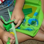 Color hunt activity for preschoolers
