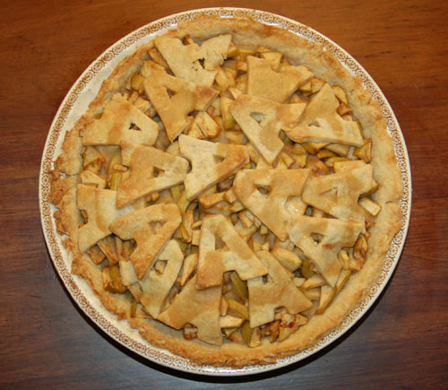 ... is apple pie baking an apple pie was one of the a activities last
