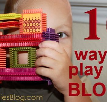 building blocks with kids