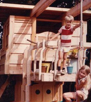 two story play house