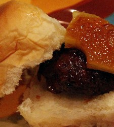 sweet and sour sliders