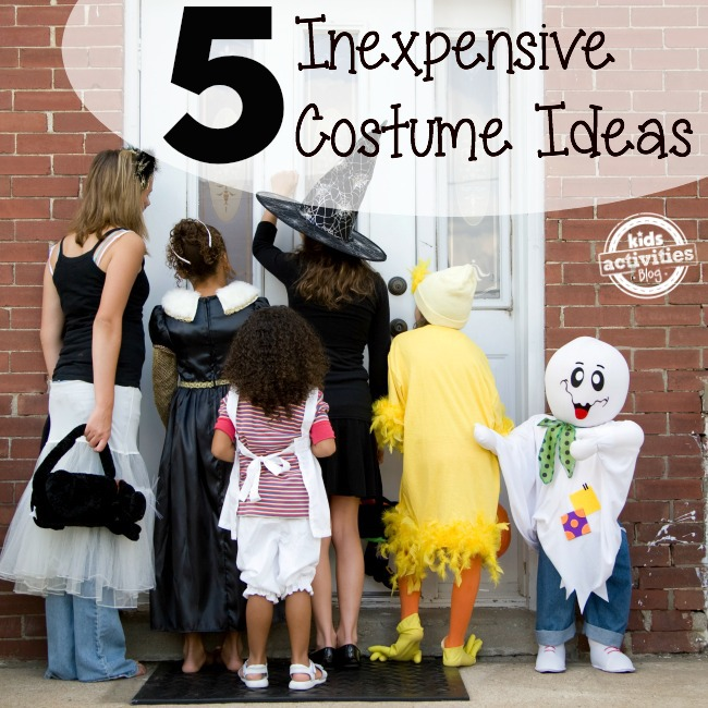 5 Inexpensive Costume Ideas