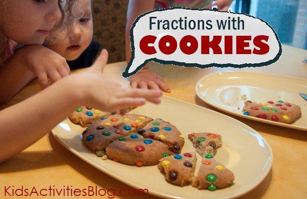 fractions cookies