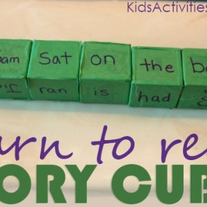 Story Cube Game for Learning to Read