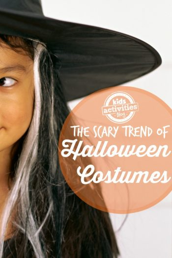 the scary trend of Halloween Costumes
