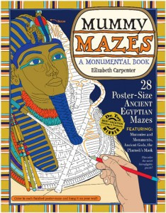 Mummy Mazes, book