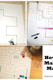 DIY Driving Car Mat: How to Make a Maze