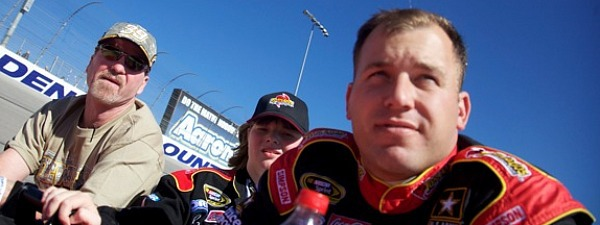 ryan newman before AAA Texas 500 during driver intro lap