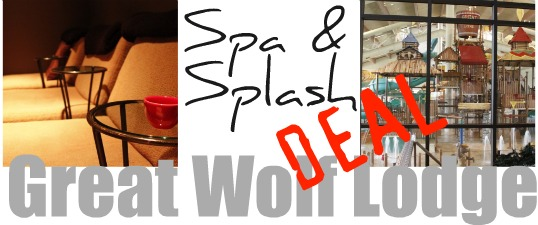 spa and splash deal at great wolf lodge