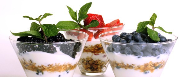 fruit and yogurt parfait fruit valley