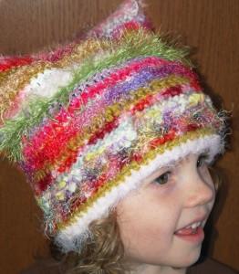 Green Hat Preschooler-Sized