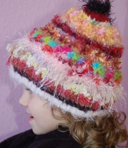 Red/Black Prechooler-sized Hat
