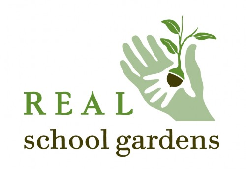logo for REAL School Gardens