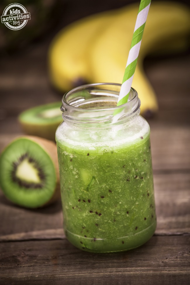 kiwi spinach and mango smoothie recipe