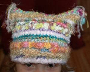 Quirky Rainbow Hat