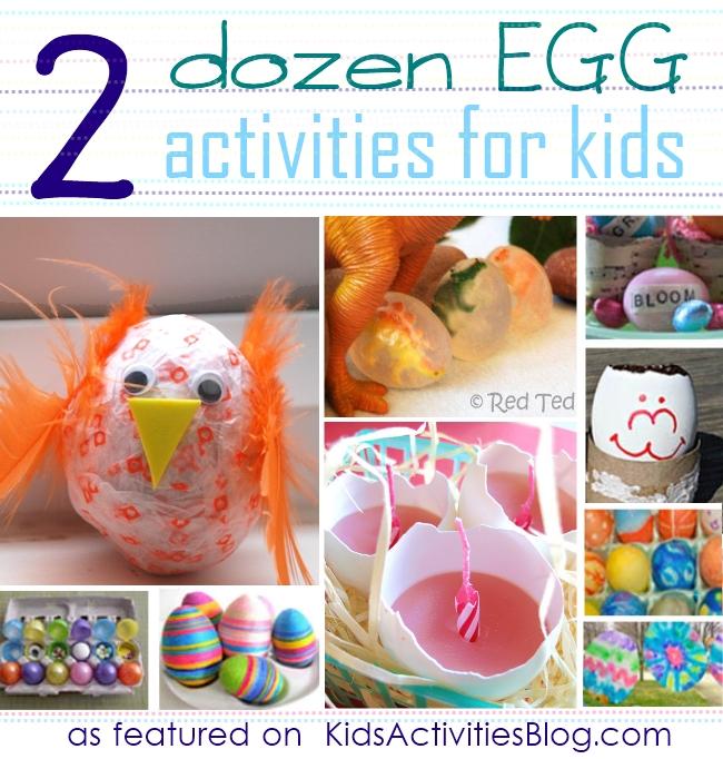 2 dozen egg decorating activities