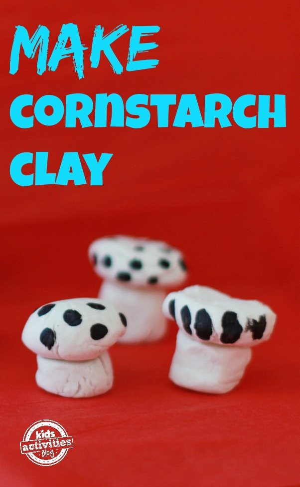 Make Cornstarch Clay Main