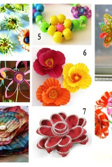 flowers preschoolers can make
