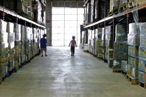 Tarrant Area Food Bank Warehouse in Fort Worth, Texas