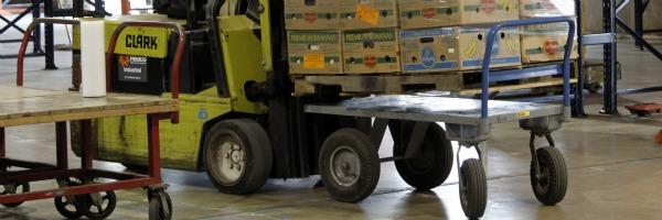 Food Bank moving food
