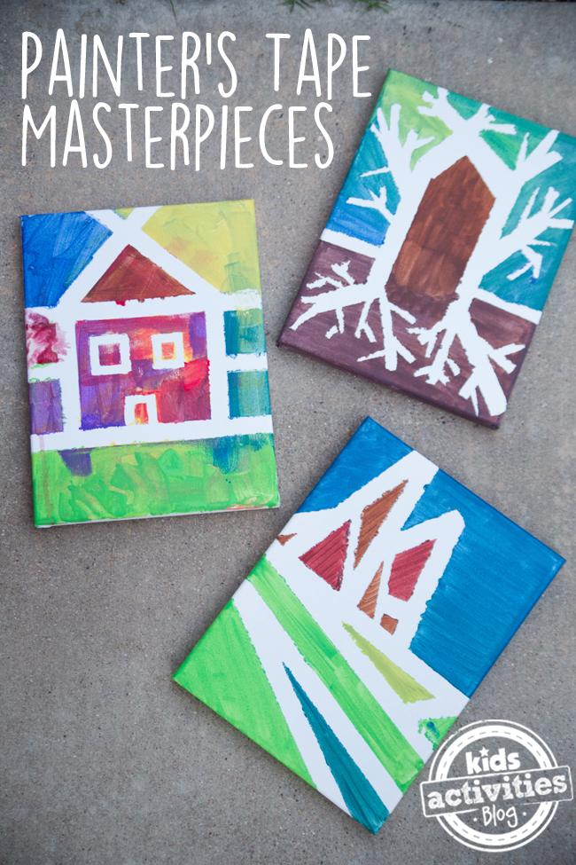 Painter's Tape Masterpieces