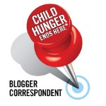 Child Hunger Ends Here blogger correspondent