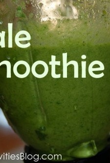 Kale and Berry Smoothie: Genius Way to Get your Kids to Eat Veggies