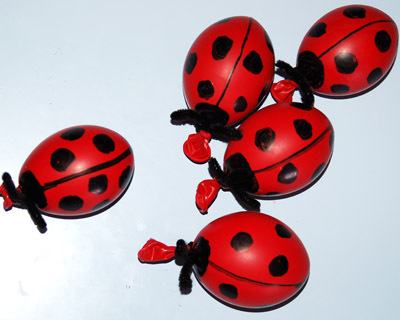 Ladybug Playdough Balloon gift