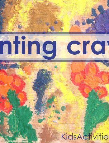 painting crayon