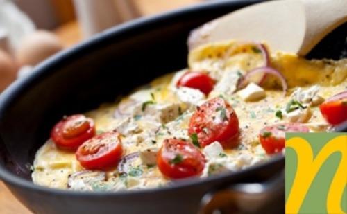 pan of food on stove