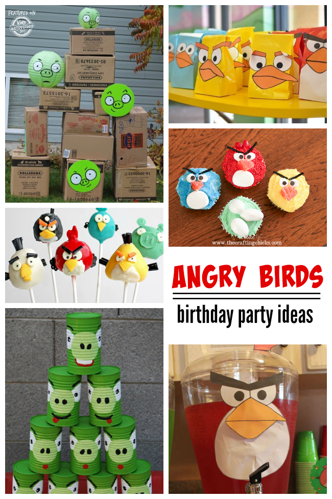 10 Angry Birds Birthday Party Ideas