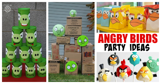 10 angry birds birthday party ideas for Angry bird decoration ideas