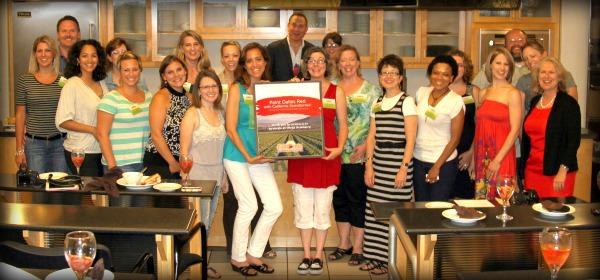 CA Strawberry tour Dallas event group picture
