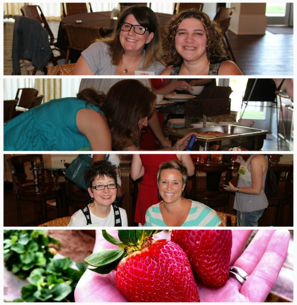 CA Strawberry Tour Dallas event bloggers