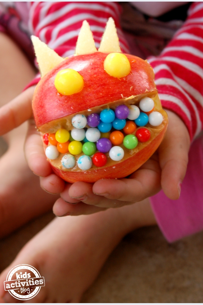 Silly snack for kids