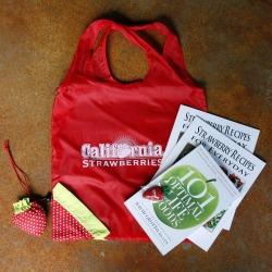CA Strawberry Tour goodie bag