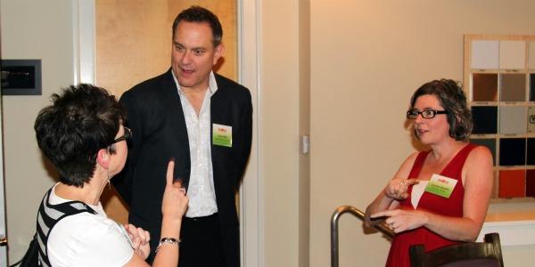Dallas CA Strawberry Event - David Grotto, Tami and Lea Ann