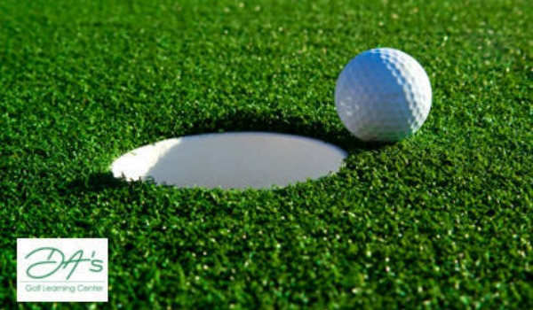 golf ball at hole 600x350