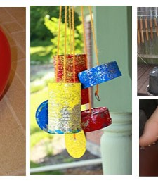 play with recycled items