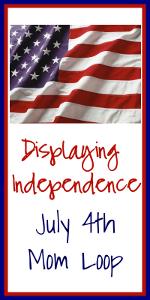 Displaying Independence badge
