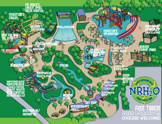 Keep Cool with the Family at NRH2O