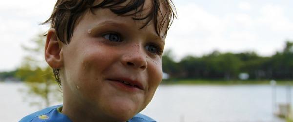 Rhett at age 5 telling a story