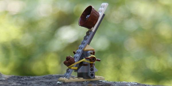 Как сделать катапульту из лего - Онлайн курсы