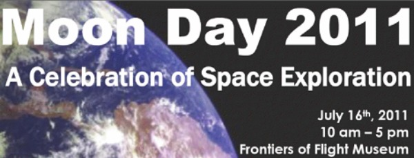 moon day banner