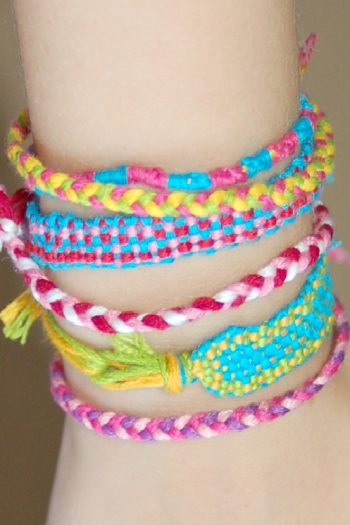Make a friendship bracelet - Kids Activities Blog