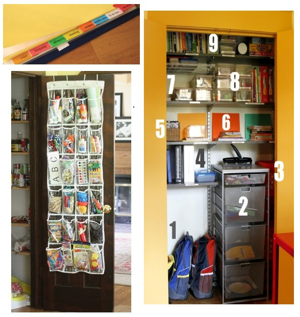 organization tips for back to school
