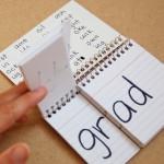 Word Families DIY flip chart