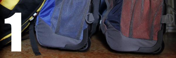 homeschool room closet backpack area 1