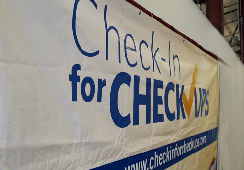 Check in for Checkups banner