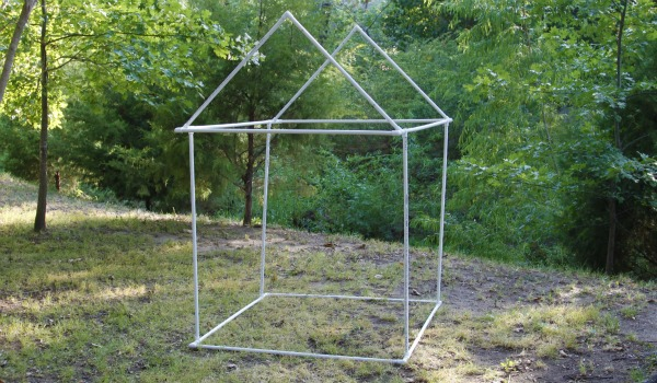 Diy pvc tent frame quotes for Homemade wall tent frame